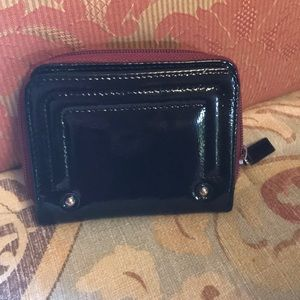 Kenneth Cole Bags - Kenneth Cole small zippered patent leather wallet.